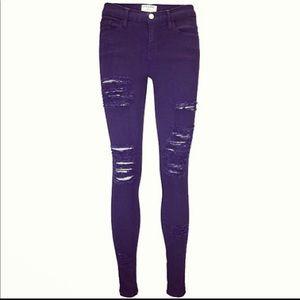 Frame Le Skinny De Jeanne Skinny Denim Jeans